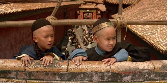 Кадр из фильма Последний император.