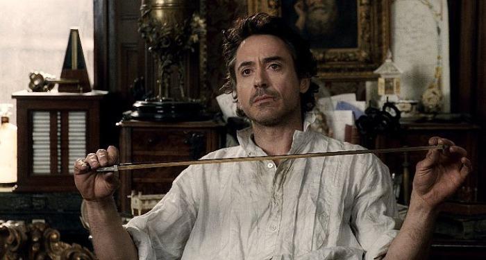 Роберт Дауни-младший тоже Шерлок Холмс.