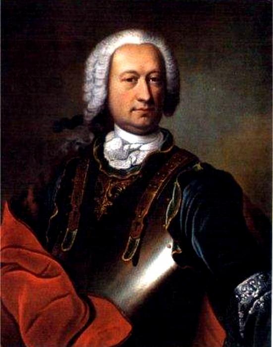 Портрет Жан-Батиста Жозефа Франсуа графа де Сада.