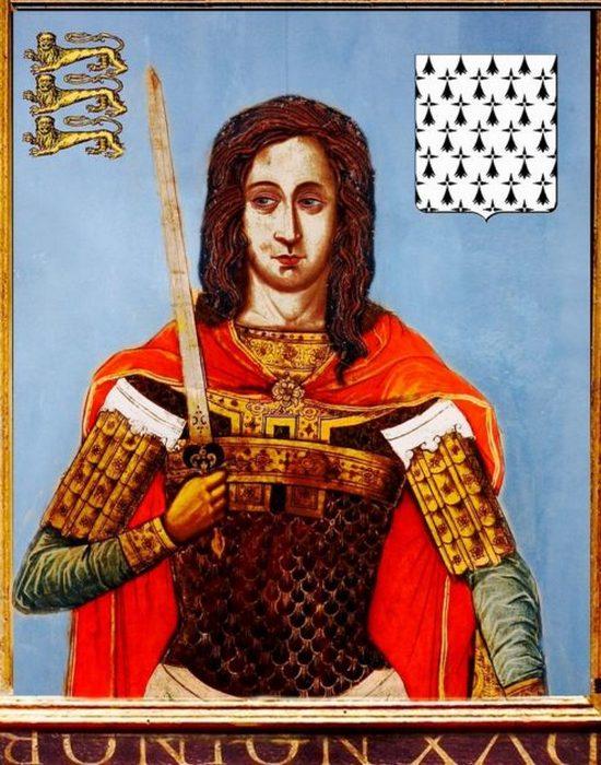 Причина смерти: якобы был зарезан пьяным королем Иоанном. / Фото: thevintagenews.com