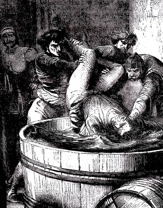 Причина смерти: утоплен в бочке с вином мальвазией. / Фото: maxpark.com