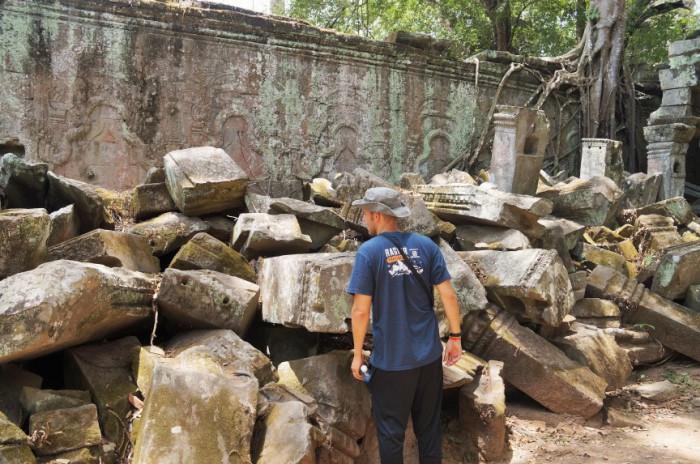 Древние храмы в Камбодже.