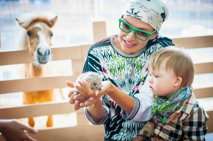 Эвелина Блёданс: Надо полюбить ребенка такого, какой он есть, и убедить себя, и знать, быть абсолютно уверенным, что твой ребенок самый лучший.