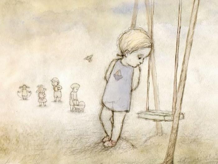 «Девочка-дура» - мультфильм-зарисовка студии анимации «А-фильм».