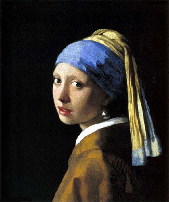 «Девушка с жемчужной серёжкой» Яна Вермеера.