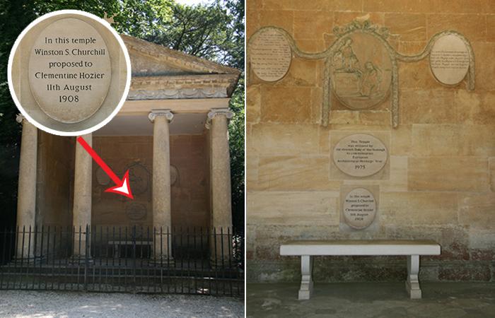 Храм Дианы - место, где Черчиль сделал предложение своей будущей жене.
