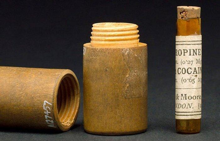 Историческая недомолвка: тампоны с кокаином./фото: listverse.com