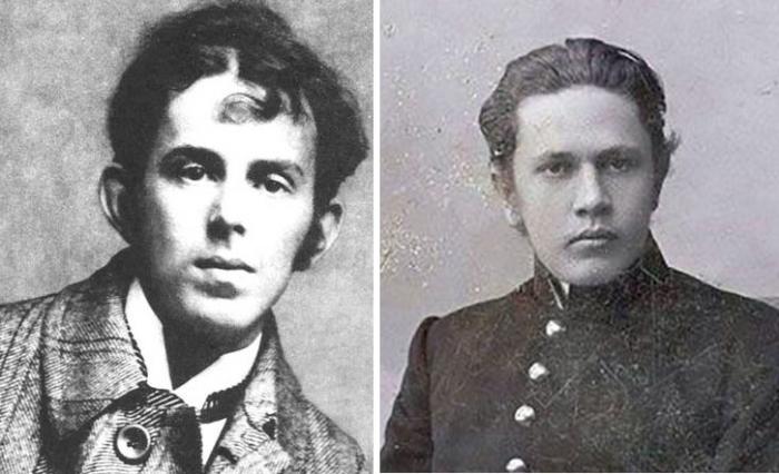Осип Мандельштам и Алексей Толстой.