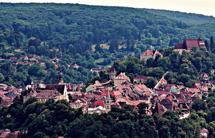Сигишоара, Трансильвания. | Фото:imgmob.net