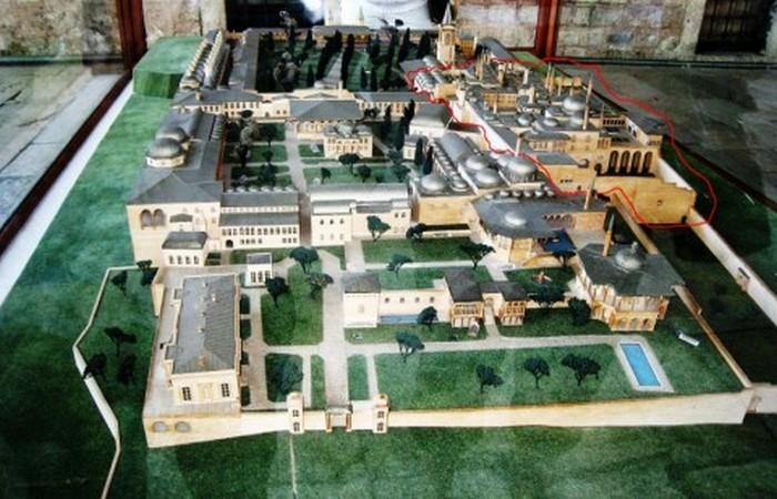 Макет дворца турецких султанов Топкапы в Стамбуле. | Фото: mirtesen.ru
