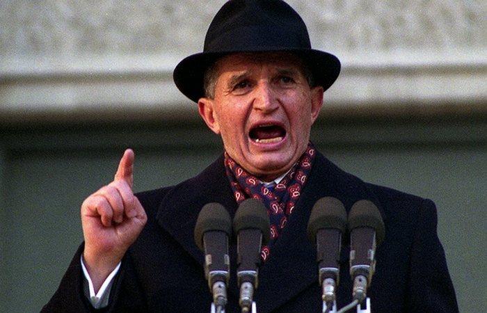 Бывший президент Румынии Николае Чаушеску. | Фото: linkis.com