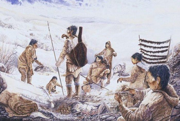 Не факт: стародавні люди в Берінгіі.