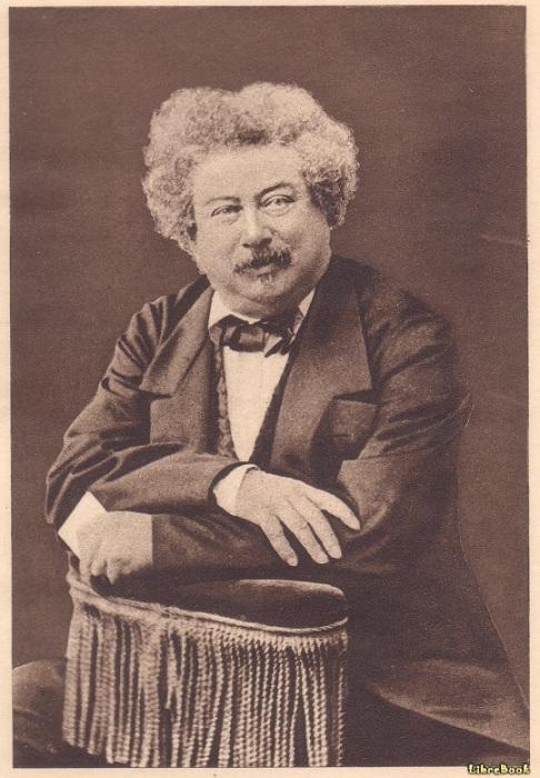Александр Дюма стал известным писателем после смерти Пушкина.