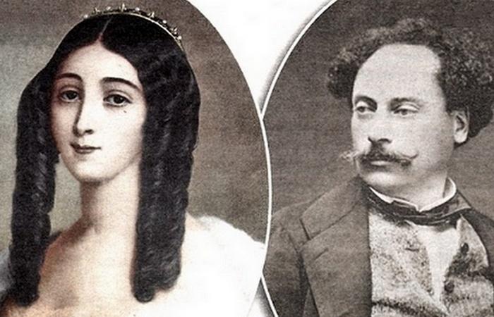 Мари Дюплесси и Алесандр Дюма-сын.