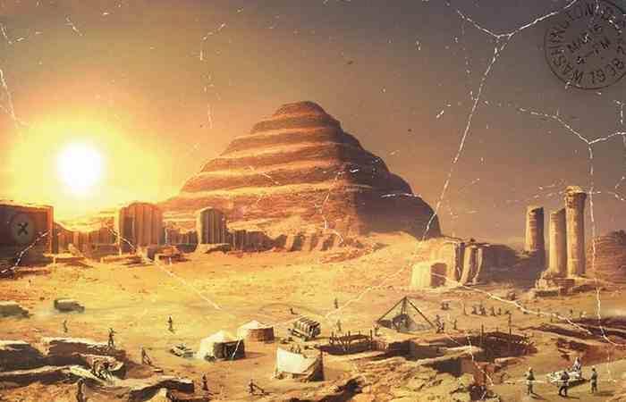 Зодчим Великой пирамиды в Гизе является Хемиун.