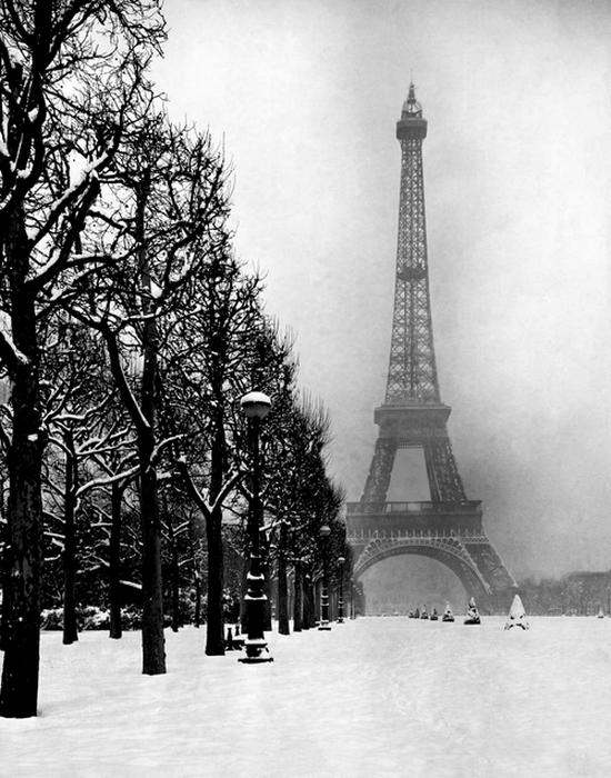 Французы перерезали тросы подъемников на Эйфелевой башне.