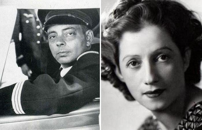 Антуан де Сент-Экзюпери и Консуэло Гомес Каррильо.