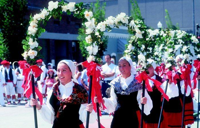Баскский язык, эускара, не принадлежит ни к одной языковой группе.