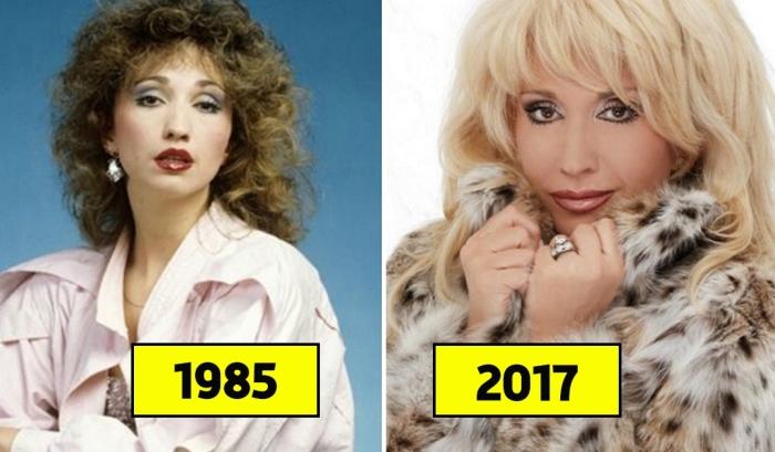 Известные российские знаменитости в начале карьеры и сегодня.