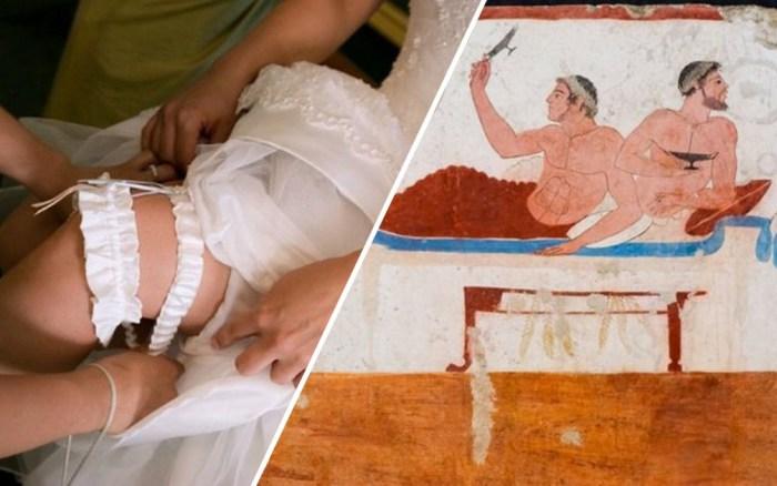 Об истоках свадебных традиций.