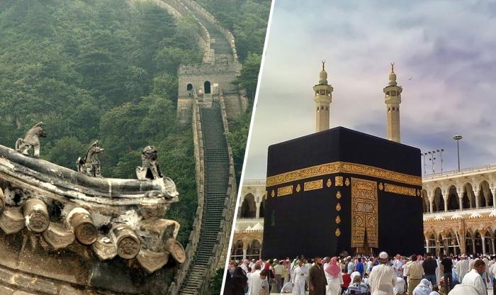 Всемирно известные памятники архитектуры.