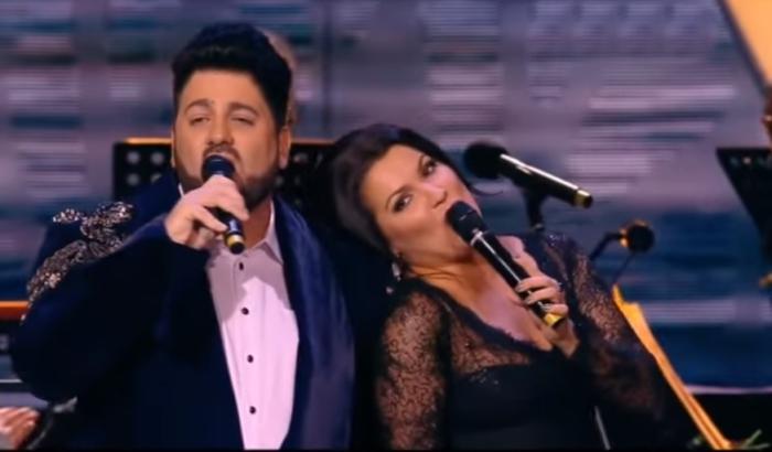 «Musica con noi»: Анна Нетребко и Юсиф Эйвазов.