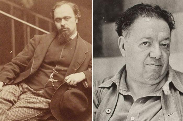 Россетти, Ривера и другие художники-эротоманы.