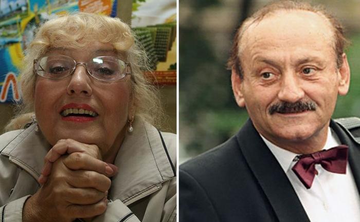 Семен Фарада и Марина Полицеймако.