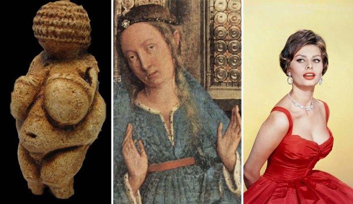 Мода на женскую грудь со времён палеолита до наших дней