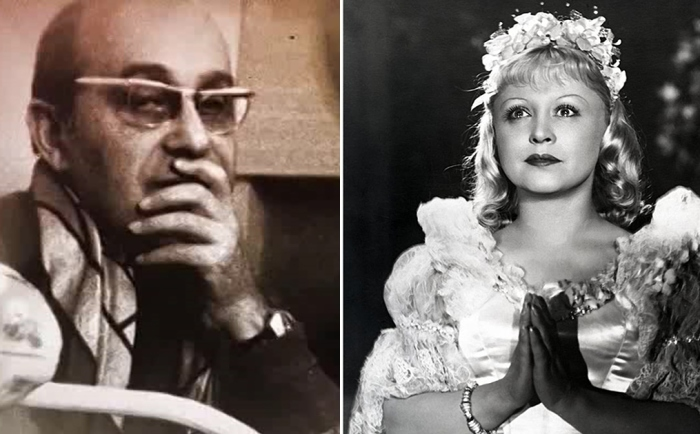 Янина Жеймо и Леон Жанно.