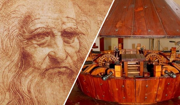 Леонардо да Винчи и его изобретения.