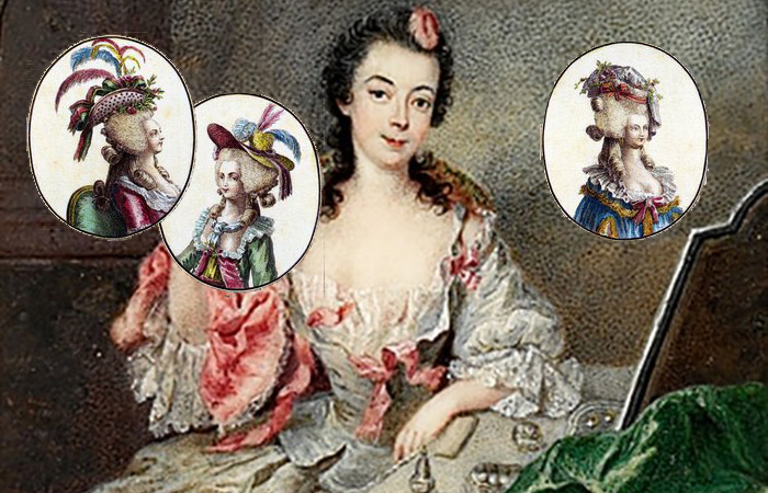 Роза Бертен - знаменитая модистка Марии-Антуанетты.