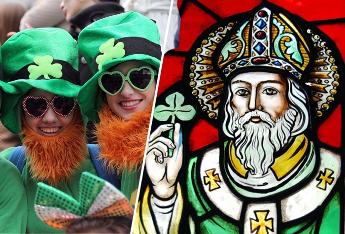 17 марта - День святого Патрика.