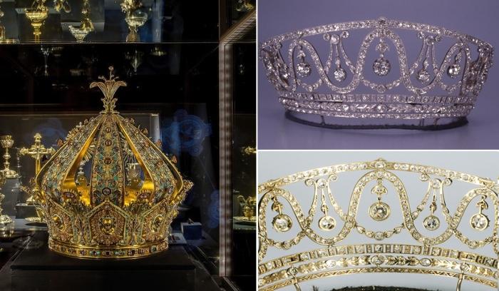 Дерзкие ограбления: два европейских музея лишились драгоценных экспонатов – короны и диадемы.