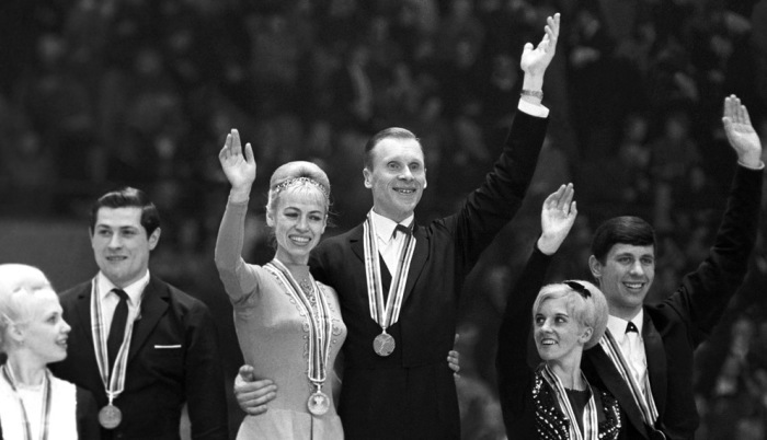 Дважды олимпийские чемпионы.