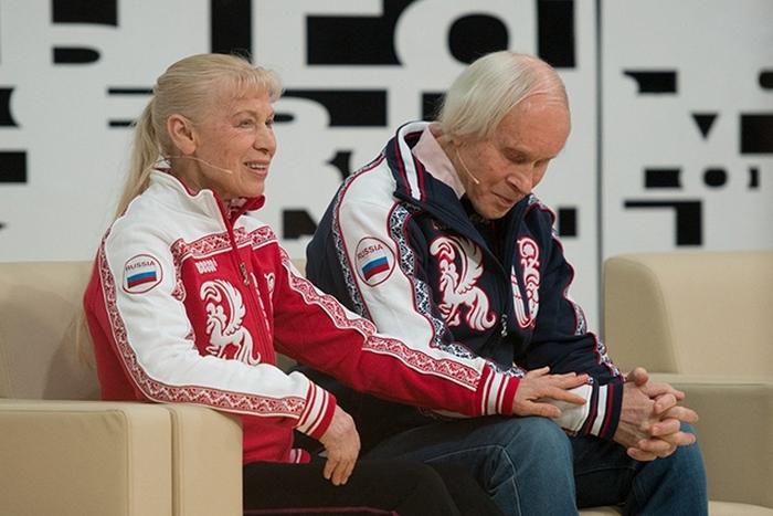 Олег Протопопов и Людмила Белоусова: выйти на лёд готовы всегда.
