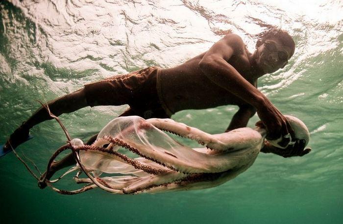 Морские цыгане из племени баджао.