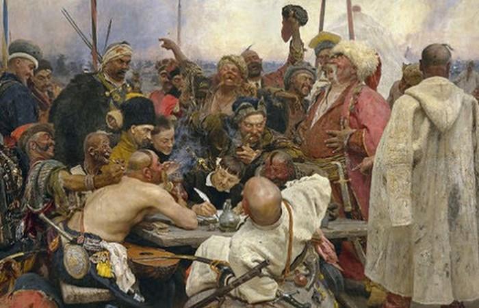 Запорожская Сечь.