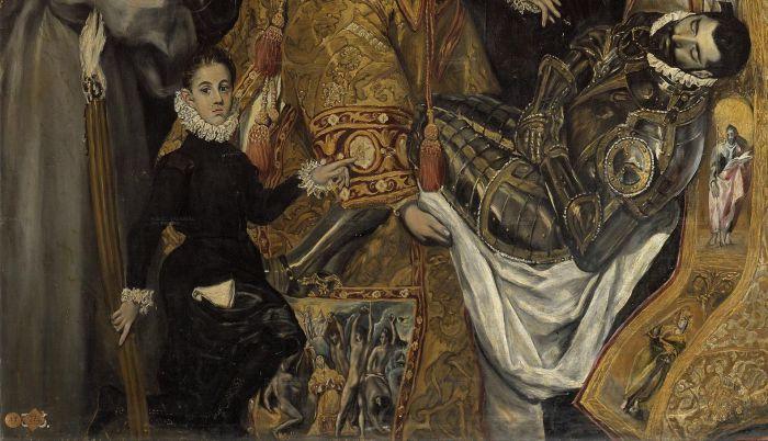 Мальчик на картине - младший сын Эль Греко.
