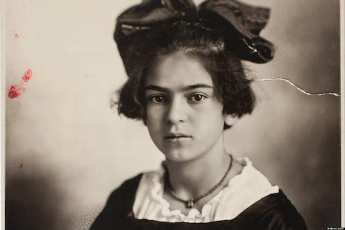 Фриде Кало 14 лет.