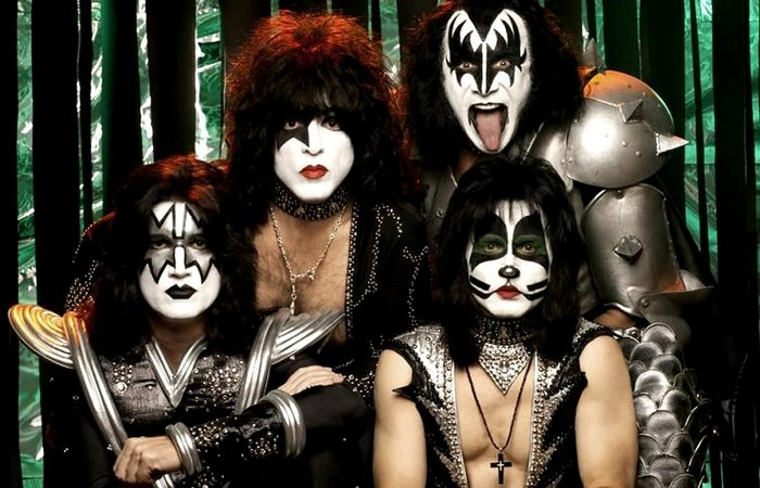 Группа KISS. / Фото: libalous.ru