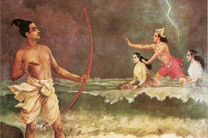 Священный лук Гандива.