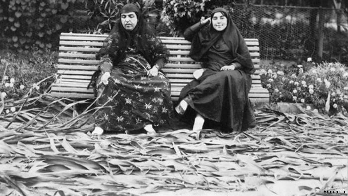 Иранские женщины из гарема Насер ад-Дин Шах Каджар.