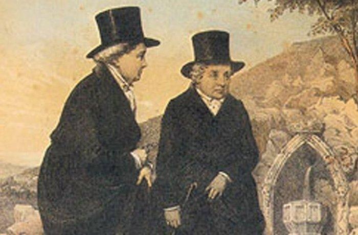 Леди Лланголлена и Сара Понсонби.
