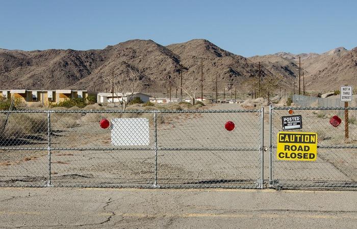 Город-призрак близ Джошуа-Три в графстве Риверсайд, Калифорния.