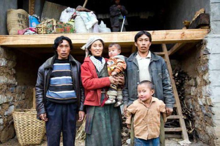 Гималаи: одна жена на двоих братьев.