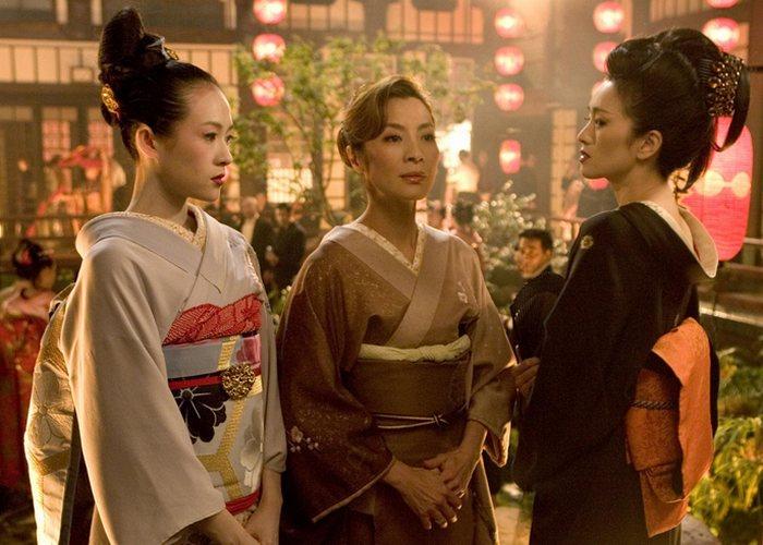 Кадр из фильма «Мемуары гейши»./фото: comode.kz