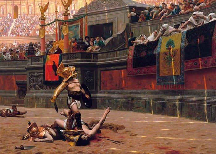 Pollice Verso — картина XIX века, которая вдохновила Ридли Скотта на фильм «Гладиатор»./ Фото: thevintagenews.com