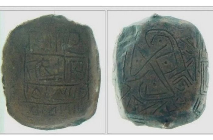 7000-летние керамические фрагменты.
