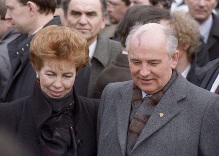 Раиса и Михаил Горбачевы: всегда на виду. / Фото: news.21.by